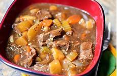 Easy Crockpot Low Carb Beef Stew Recipe Sober Julie