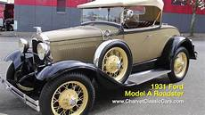1931 ford model a roadster charvet classic cars