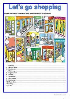 worksheets shopping 18462 shops let s go shopping worksheet free esl printable worksheets made by teachers