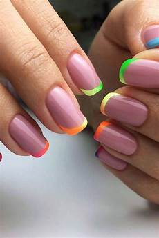 43 colorful nail art designs that scream summer stayglam
