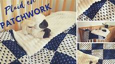patchwork pour débutant plaid en patchwork
