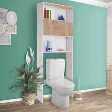 meuble dessus wc avec 233 tag 232 res et placard coloris h 234 tre