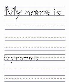 handwriting worksheets with names 21627 my name is blank name worksheet tracing worksheets kindergarten