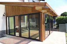 coperture terrazzo in legno galeria cortinas de cristal cerramientos de terrazas