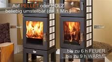 Pellet Ofen Ohne Strom Als Pellet Holz Kombi
