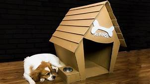 How To Make Amazing Puppy Dog House From Cardboard Diy By