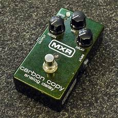 carbon copy analog delay mxr m169 carbon copy analog delay pedal 2nd rich tone