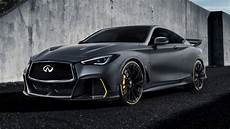 The Infiniti Q60 Project Black S Showcases F1 Tech Gallery