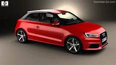 audi a1 3 portes audi a1 3 door 2015 by 3d model store humster3d