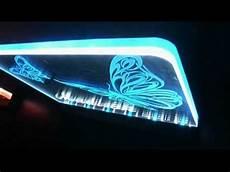 update variation on duel colour acrylic led edge lit logo