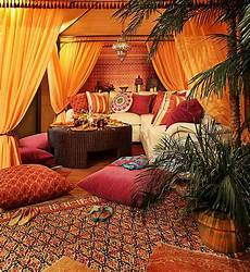 Moroccan Themed Living Room