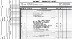 download quantity takeoff sheet constructioncivilengineering in 2019 civil engineering