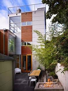 three striking modern home striking three story modern dwelling in seattle with a