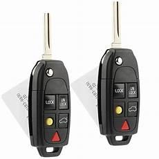flip key fob keyless entry remote fits volvo c30 c70 s40