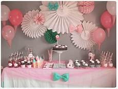Decoration Anniversaire Fille Chez Cette Fille Anniversaire F 234 Te D Enfants Diy