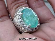 Zamrud Emerald Beryl 2 5 Ct batu cincin emerald zamrud jumbo asli kode 817 wahyu mulia
