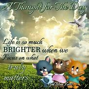 Image result for Happy Thoughts for the Day