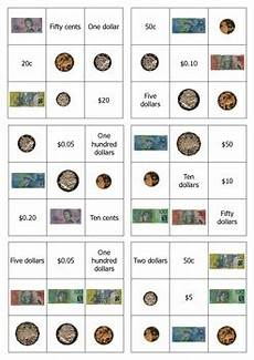 money bingo worksheets 2076 australian money bingo easy version by shane tpt