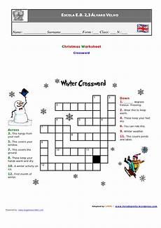 winter crossword worksheets 19981 1 winter crossword