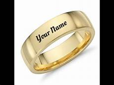 writing in wedding ring how to write name on wedding ring youtube
