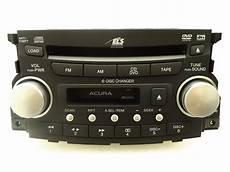 new 04 05 06 acura tl navigation gps radio 6 disc changer dvd player 1tb3 oem ebay