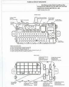 1992 honda civic stereo wiring free auto wiring diagram 1992 honda civic fuse box and circuit breakers diagram