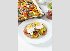 roasted vegetable fajitas_image