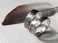 unique silver wedding rings silver wedding rings unique wedding ring square by crazyassjd