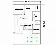 Tren Gaya Denah Gambar Rumah Sederhana Sekali Rumah Minimalis