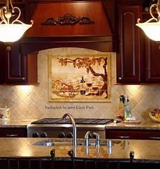Tile Murals For Kitchen Backsplash Tuscan Colors Tuscan Color Palette Paint Colors