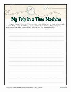 my time machine trip creative writing prompt for 6th 8th grade