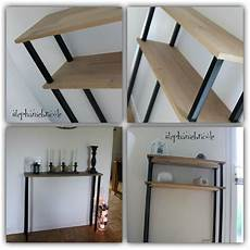 diy d 233 co faire un meuble console au style industriel soi
