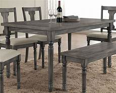 Weathered Dining Room Table weathered gray patio rectangular dining table