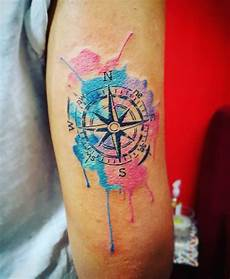 155 cool compass tattoo designs meaning aftercare tips