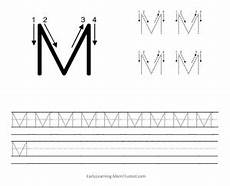 capital letter m tracing worksheets 24323 learning how to write the capital letter m learning to write literacy