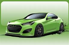 hyundai genesis coupe another 500 hp hyundai genesis coupe concept heads to sema