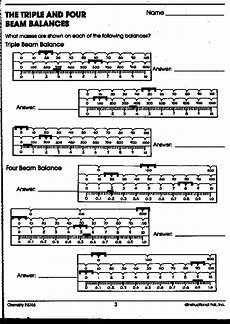 worksheet triple beam balance practice mia s blog