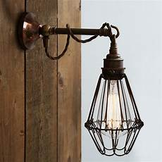 mullan edom industrial cage wall light