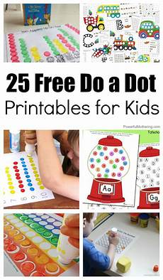 25 free do a dot printables for kids activities for preschoolers and pre k learners kids
