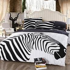 Zebra Print Bedroom black and white jungle animal themed zebra print size