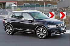 Volkswagen Tiguan Sound - the best all rounder around vw tiguan r spotted by car