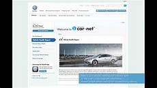 car net portal volkswagen car net web portal overview