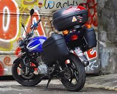 Modifikasi Motor Thunder 125 Touring by Kumpulan Modifikasi Motor Suzuki Thunder 125 Keren Terbaru