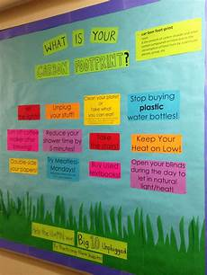 Environmental Bulletin Board Ways To Reduce Your Carbon