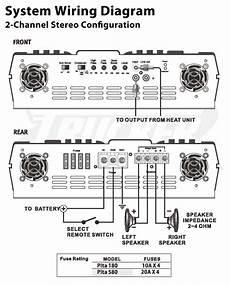 com pyle plta580 2 channel 2 000 watt 24 volt truck bus rv bridgeable mosfet lifier