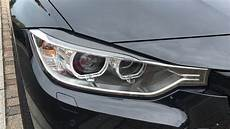 carbon fibre xenon headlight eyelids for bmw 3 4 series