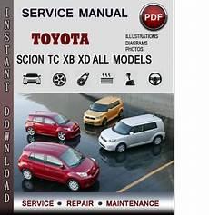 on board diagnostic system 2011 scion tc user handbook toyota scion tc xb xd service repair manual download info service manuals