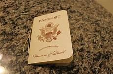 s diy passport destination wedding invitations
