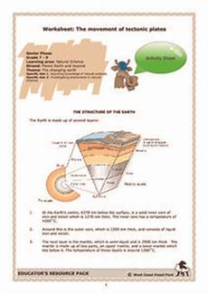 movement of the earth s crust worksheets 14432 worksheet the movement of tectonic plates activities project for 6th 9th grade lesson planet