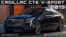 2019 cadillac ct6 v sport review rendered price specs release date youtube